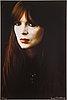 Ewa rudling, färgfotografi föreställande nico, signerat.