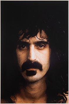 Ewa Rudling, photograph of Frank Zappa, signed.