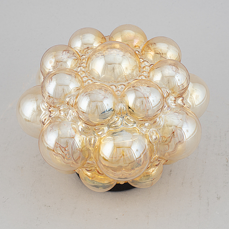 A glass ceiling light, glashütte limburg, germany.