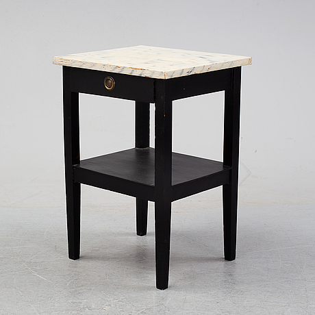A painted sidetable, mid 20th century.
