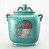 "Wilhelm kåge, a gustavsberg stonewear ""argenta"" urn from 1947."