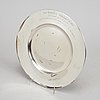 31 swedish silver dishes with engraving, including k anderson, stockholm 1927.