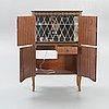 Bar cabinet, gustavian style, 1960s / 1970s.