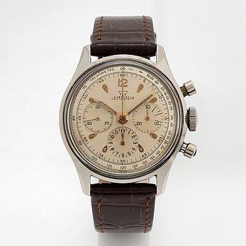 Lemania, wristwatch, chronograph, 35 mm.