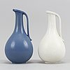 Two jugs/vases by gunnar nylund for rörstrand.