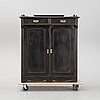 A painted cupboard, early 20th century.