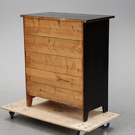 A chest of drawers, first half of the 20th century.