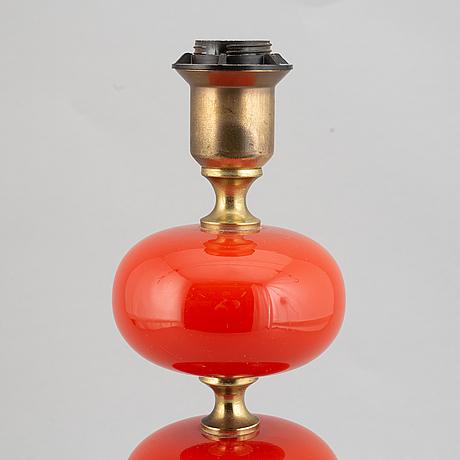 Bordslampa, ab. stilarmatur, tranås, 1970-tal.