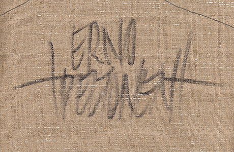 Erno peltonen, oil on canvas, a tergo signed.