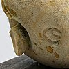 Alf ekberg, a signed stonewear sculpture.