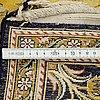A carpet, old qum, silke, ca 172 x 115 cm.