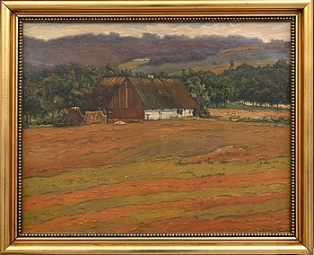 Axel Theodor Kulle, oil on canvas signed and dated 19 (?).
