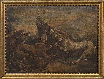 Okänd Konstnär 1600-tal , oil on canvas.