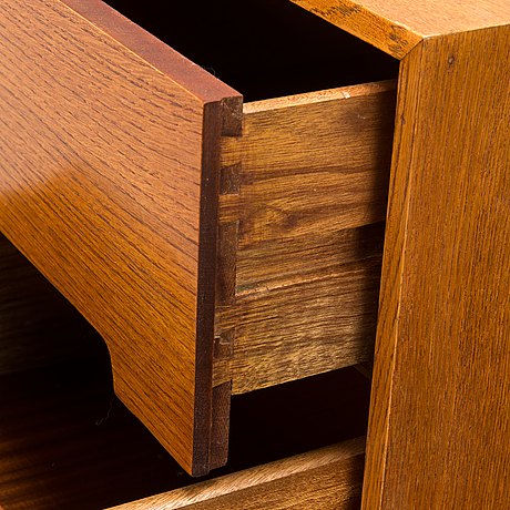 John & sylvia reid,a mid-20th century 'c range' mirrored dressing table.