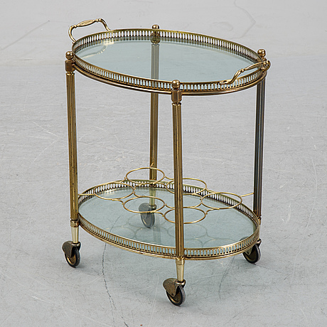A drinks trolley, second half of the 20th century.