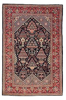 303. Matto, semi-antique, Kashan, ca 206,5 x 134,5 cm.