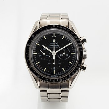 "Omega, Speedmaster, Professional, ""Moonwatch"", ""Last series tritium dial"", wristwatch, chronograph, 42 mm."