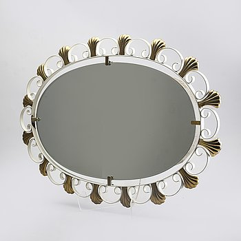 Mirror, Italy, 1940s-50s.