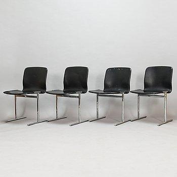Antti Nurmesniemi, A set of four 'Triennale' chairs, Piiroinen, Finland.