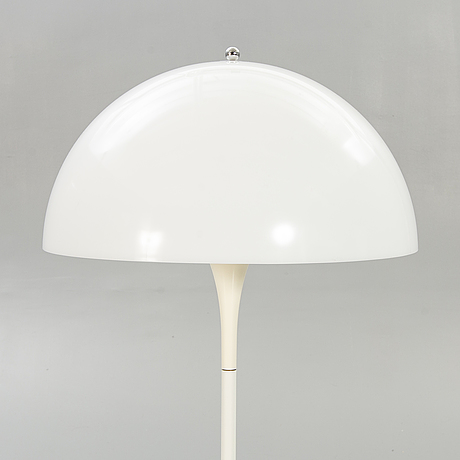 Verner panton, a pantella floor lamp later part of 20th century denmark.
