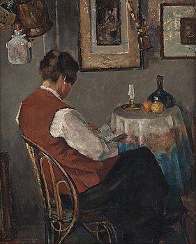 """508. Greta Gerell, """"Från min första ateljé""""."""