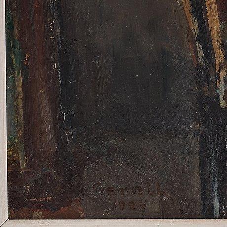 """Greta gerell, """"från min första ateljé""""."""