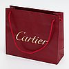 """Cartier, a pair of 18k white gold earrings """"habana"""" with diamonds ca. 11.22 ct in total. marked cartier, 842920."""
