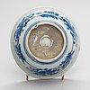 Skålar, 24 st, ett fat och en skål, porslin, 1900-tal.