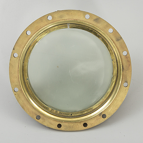 Ship window, bronze, first part of the 20th century.