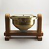 A brass ships compass, glasgow, first half of the 20th century.