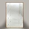 Spegel, ab glas & trä, hovmantorp, mid-20th century.