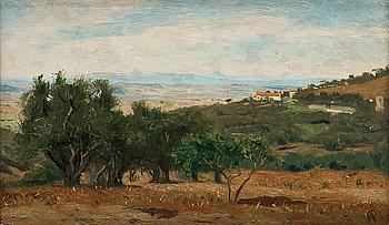 606. Olof Arborelius, Vy från Capidimonte di Sorrento.