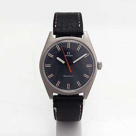 Omega, geneve, armbandsur, 34,5 mm.