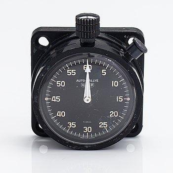 Heuer Auto-Rallye, dash board stop watch, 57 mm.