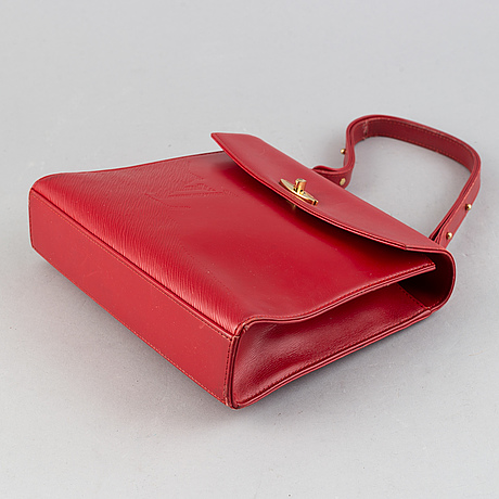 Louis vuitton, a 'malesherbes' handbag, 1991.