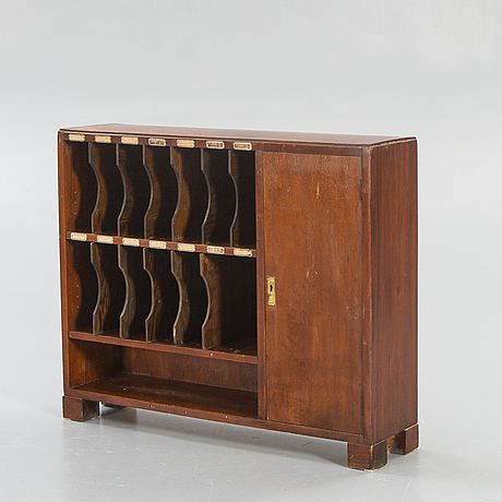 Archive furniture, 1940s-50s.