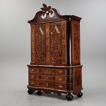 A Swedish late Baroque cabinet.