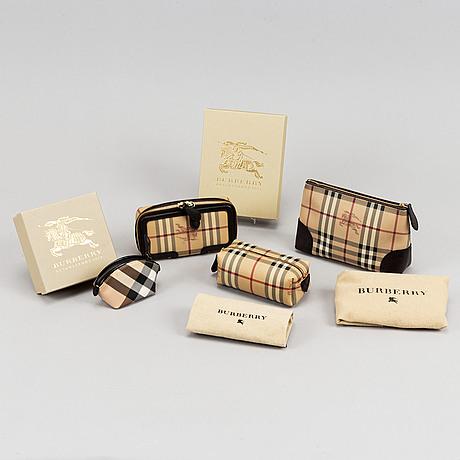 Burberry, four items.