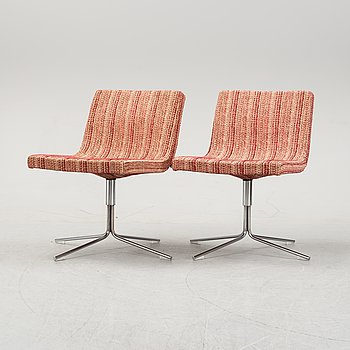 Jean-Marie Massaud, a pair of 'Bond' swivel chairs from Offecct.