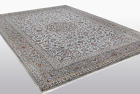 A carpet, kashan, signed fani, ca 420 x 300 cm.