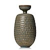 Stig lindberg, a stoneware vase, gustavsberg studio, sweden ca 1960.