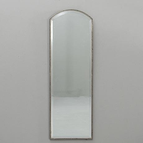 Knut wiholm, mirror, pewter, stockholm 1930.