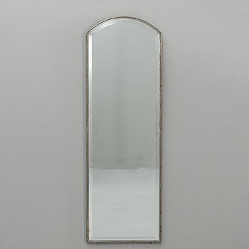 Knut Wiholm, mirror, pewter, Stockholm 1930.