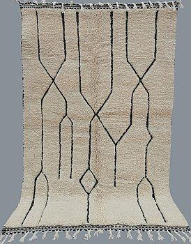 A carpet, Morocco, ca 245 x 158 cm.