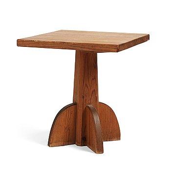 "310. Axel Einar Hjorth, probably, a stained pine ""Lovö"" table, Nordiska Kompaniet, Sweden."