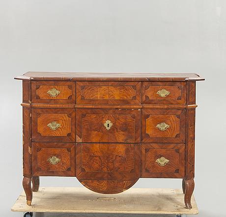Bureau, louis xvi, late 18th century, probably germany.