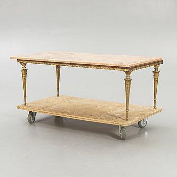 Soffbord/sidobord,  1900-talets andra hälft.