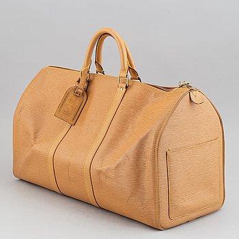 """Louis Vuitton, weekendväska, """"Keepall 50""""."""