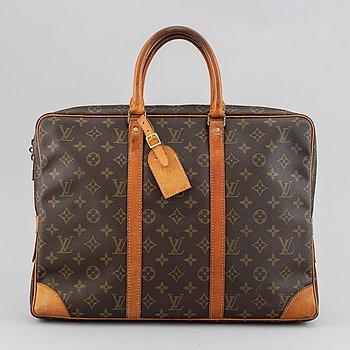 """Louis Vuitton, portfölj, """"Documents""""."""