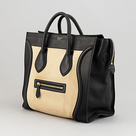 Céline, a 'luggage tote' leather bag.
